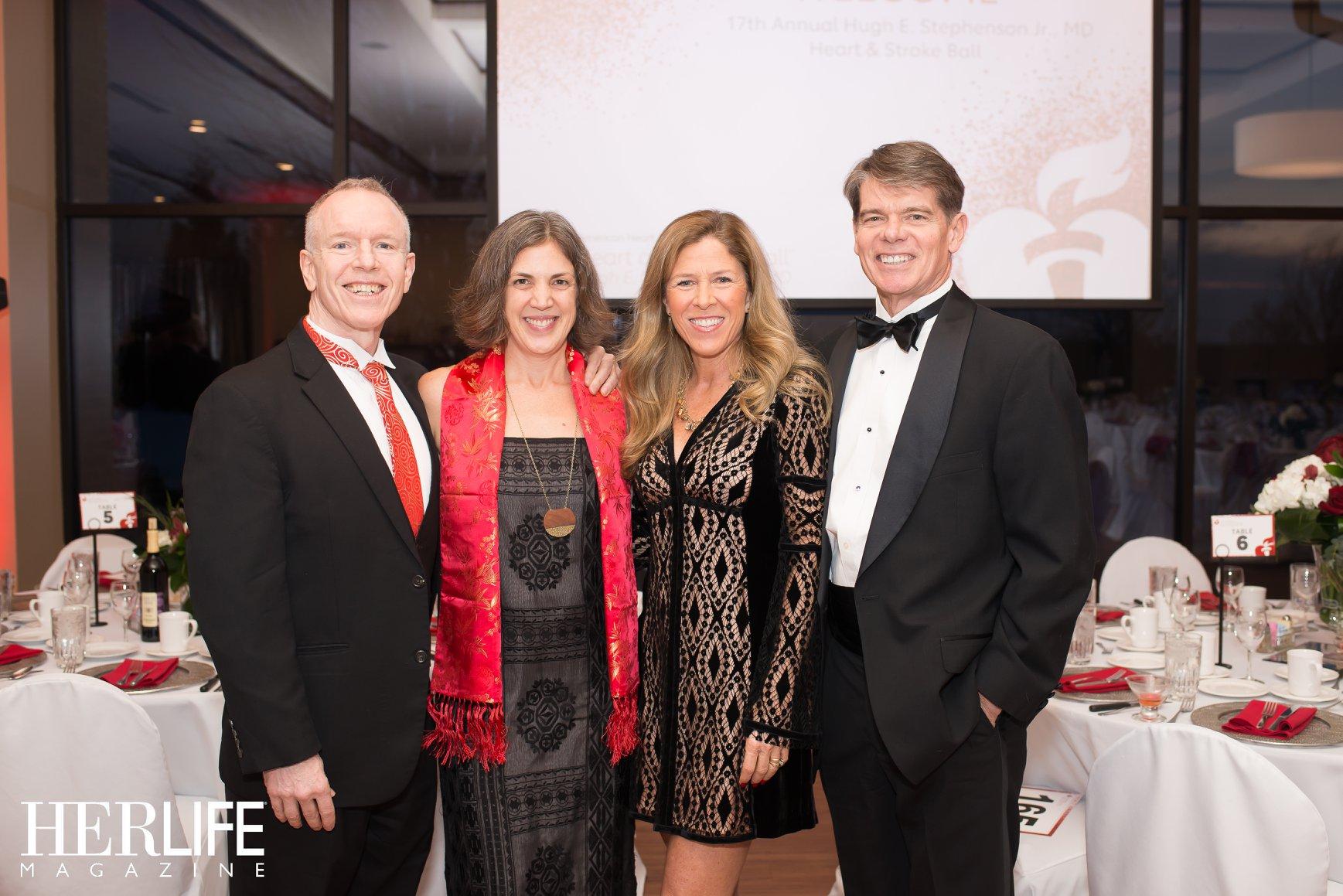 Photo: Dr. & Mrs. Stavely-O'Carroll & Ann & Alex Cameron