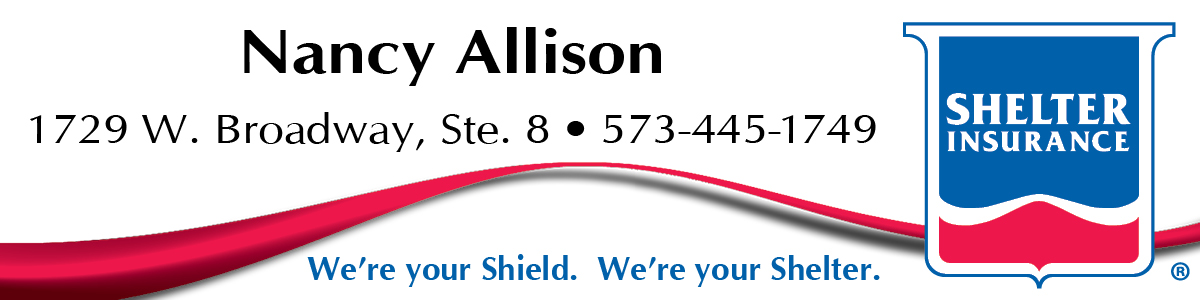 Logo: Nancy Allison, Shelter Insurance Agent